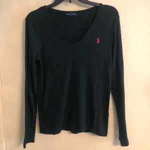 Forest Green Polo Sweater